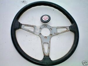 Fiat Spider 2000 Convertible Steering Wheel With Horn Button 80