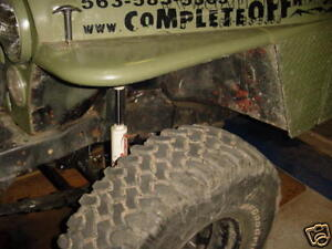 Jeep Cj5 Cj6 Cj7 Cj8 Yj Lj Flat Tube Fender Conversion Kit