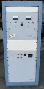 3kw Rf Generator 13 56 Mhz With Tubes Manual Pristine
