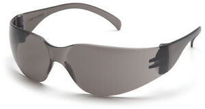 48 Pair 1700 Series Smoke Gray Lens Safety Glasses