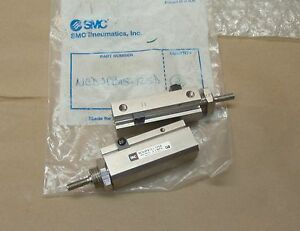 2 Lot New Smc Ncdjpb15 125d Air Pneumatic Cylinder 0 7 Mpa