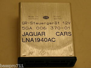 1996 Jaguar Xj6 Xj 6 Cruise Control Speed Ecu Lna 1940