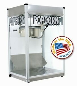 Commercial 12 Ozpopcorn Machine Theater Popper Maker Paragon Pro Series Ps 12