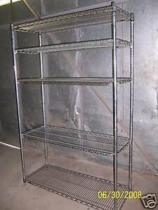 Used Heavy Duty Commercial Shelving