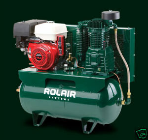 Rolair 5 Hp Air Compressor Honda Engine 13gr30hk30