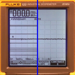 Fluke 123 124 125 Scopemeter Lcd Display Line Repair Service