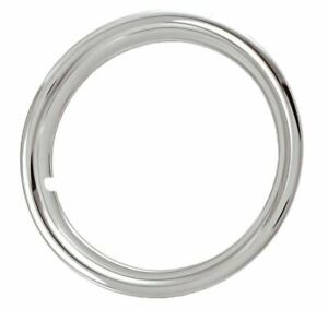16 Abs Chrome Trim Beauty Rings Hubcaps 1 1 2 Deep Wheel Restoration Set Of 4