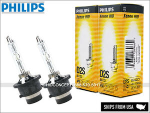 Pair Philips Oem D2s Hid Xenon Bulbs For Nissan 350z 370z Altima Gt R Maxima
