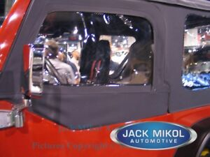 97 06 Jeep Wrangler Tj Replacement Upper Skins Front Windows New