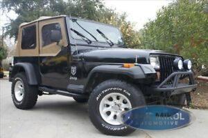 Spice Replacement Soft Top 88 95 Jeep Wrangler Free Grab Handles