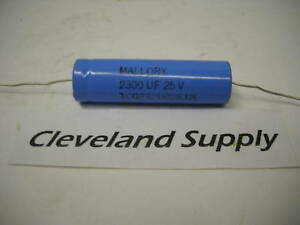 Mallory Tcg232u025j2l Capacitor 2300uf set Of 18 New Condition