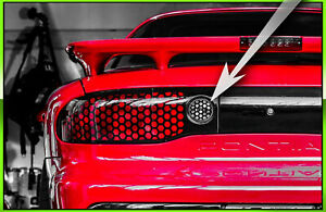 Firebird Trans Am Reverse Light Honeycomb Overlay Decal