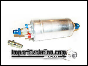 Bosch 044 300lph Fuel Pump With An Fittings Walbro