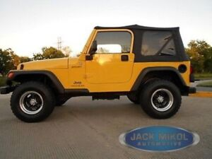 97 06 Jeep Wrangler Replacement Soft Top Tinted