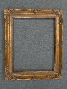 Picture Frame 16x20 Shabby Chic Antique Style Baroque Ornate Gold