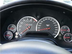 C5 Corvette Z06 Zo6 Gauge Bezels Rings Trim Gb1