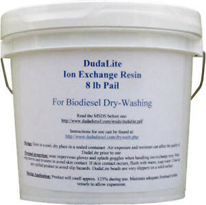 8 Lb Of Biodiesel Dry Wash Resin Beats Purolite Pd206