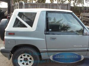 Rampage 1995 1998 Suzuki Sidekick Geo Tracker Soft Top White