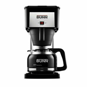 Commercial Style Coffee Brewer 10 Cup Coffee Black