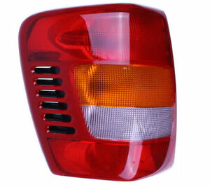 New Left Tail Light Fits 1999 2004 Jeep Grand Cherokee Driver Side