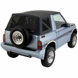 Rampage 88 94 Tinted Suzuki Sidekick Geo Tracker Soft Top Black