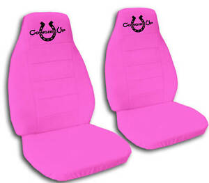 C L Set Cowgirl Up Car Seat Covers 9 Colors Choose
