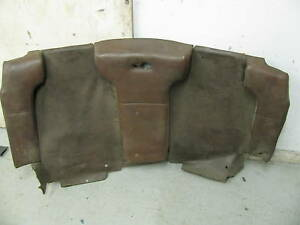 Porsche 914 Factory Back Pad Great To Repair Yours