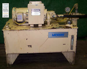 1 Used Vickers Hydraulic Power System 1 1 2hp make Offer