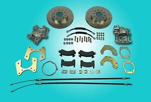 Ford 9 New Large Bearing Rear Disc Brake Conversion With Parking Brakes