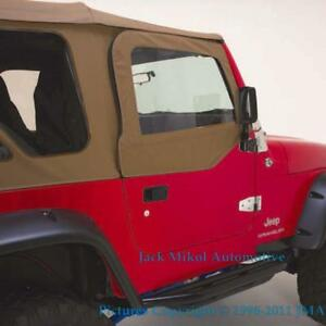 Spice Upper Skins Door Uppers Front Windows 1997 2006 Jeep Wrangler
