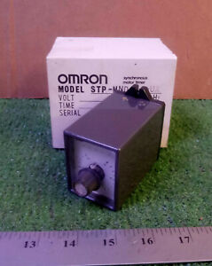 1 New Omron Stp mnd aa ua Synchronous Motor Timer make Offer