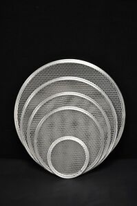 12 Heavy Duty Round Pizza Baking Screens 1 Dozen