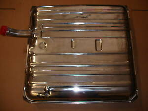 1958 Chevrolet New Gas Tank Stainless Steel