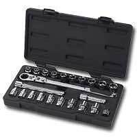 Gearwrench 23pc Sae met Xl Passthru Ratchet Set 893823