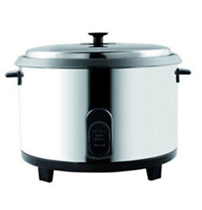 Rice Cooker Stainless Grc23 General Commercial