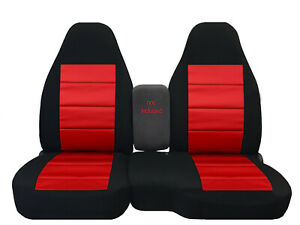 Car Seat Covers 60 40 Seat Black Red Fits 98 03 Ford Ranger Style 39 Mor Colors