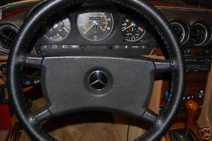 Mercedes Genuine Leather Steering Wheel Cover All Models Custom Wheelskins Wsmb