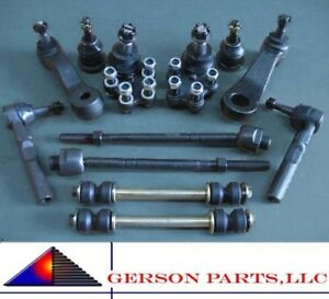 Front End Kit Tie Rod End Ball Joint Pitman Idler Links
