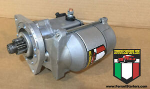 New Ferrari Dino 206 246 Gt Modern Gear Reduction Starter
