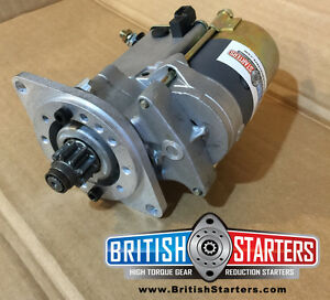 Mg Mgb 1968 1980 And Mgc Modern Gear Reduction Starter Motor Mgb Gt