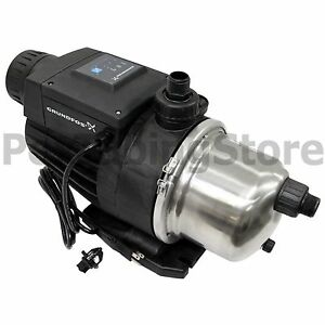 Grundfos Mq3 35 Booster Pump 3 4hp 115v 96860172