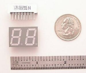 Lite on Ltd 5023awc Dual 7 Segment Display 100 Pieces
