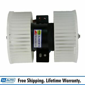 Heater A c Dual Fan Blower Motor W Dual Cage For 91 95 Acura Legend
