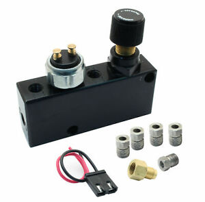 Adjustable Proportioning Valve Distribution Block Includes Fittings