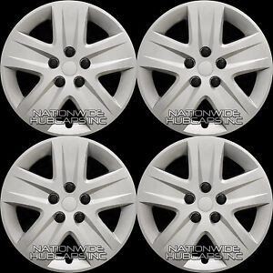 4 New 2010 2011 Chevy Impala 17 Bolt On Hub Caps 5 Spoke Full Rim Wheel Covers