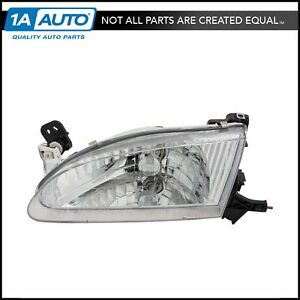 Headlight Headlamp Driver Side Left Lh New For 98 00 Toyota Corolla