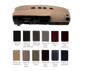 Gmc Velour Dash Cover Custom Fit For Your Model Many Colors V1gmc