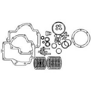 Pto Clutch Pack Kit For Case Ih W Brakes Gasket 100 456 706 806 966 1026 2856