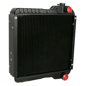 Radiator For Case Backhoe 234876a1 580l 580sl 584e 585g 586e 588g 590sl 590sm