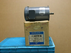 Boston Gear Electric Motor Kytf b Hp2 575v 3 Ph Rpm 1725 Class B New 2hp 2 Hp